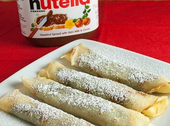 Crepe with Nutella chocolate