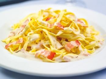 Carbonara noodles