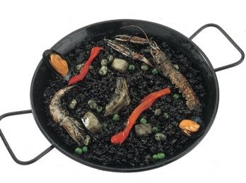 Spanish black rice